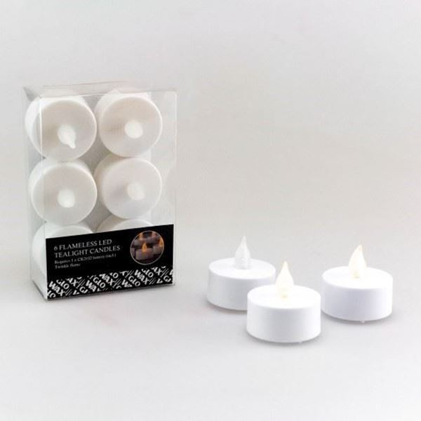 Picture of 6pc LED tealight candles