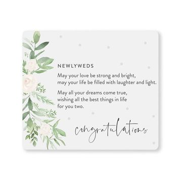 Picture of Wedding newlyweds verse