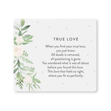 Picture of Wedding true love verse