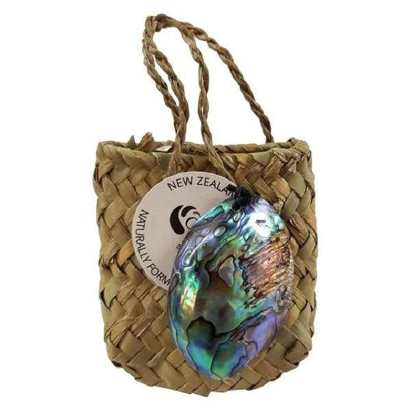 Picture of Paua gem & kete bag