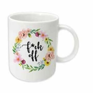 Picture of F**k off mug