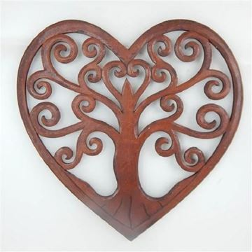 Picture of Carved heart tree of life