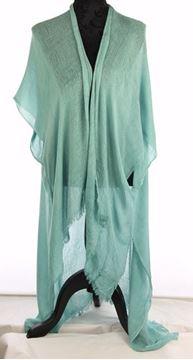 Picture of Aqua multi texture long cotton