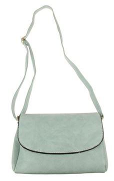 Picture of Aqua front flip bag