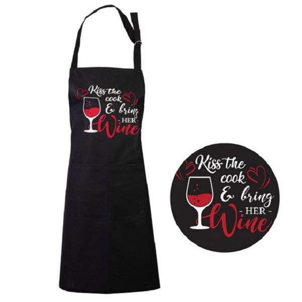 Picture of Apron kiss the cook