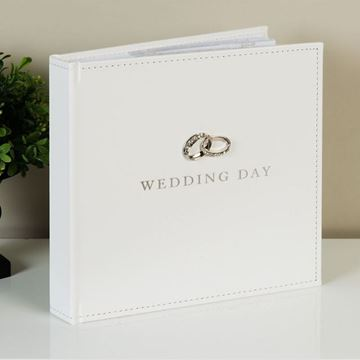 Picture of 5x7 wedding day photo album