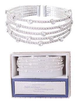 Picture of EQ sparkle cuff bangle