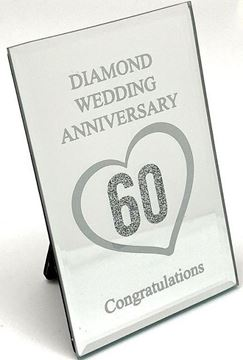 Picture of Diamond anniversary plaque