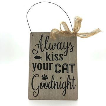 Picture of Sign kiss cat