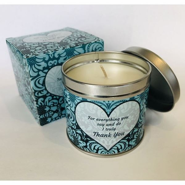 Picture of Thank you candle