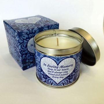 Picture of In loving memory candle