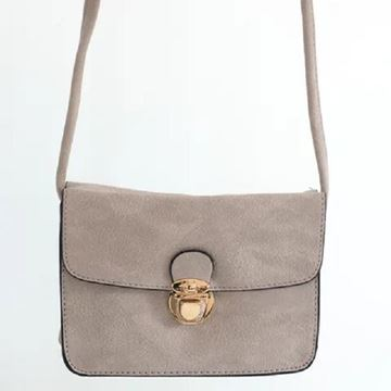 Picture of Camel buckle handy bag