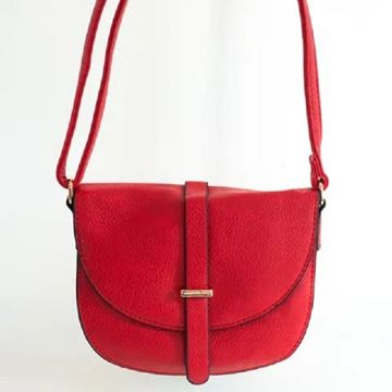 Picture of Red mini oval bag