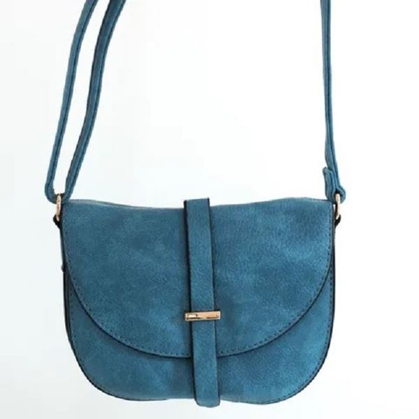 Picture of Blue mini oval bag