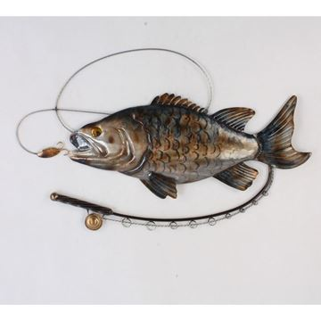 Picture of Fish and fishing rod