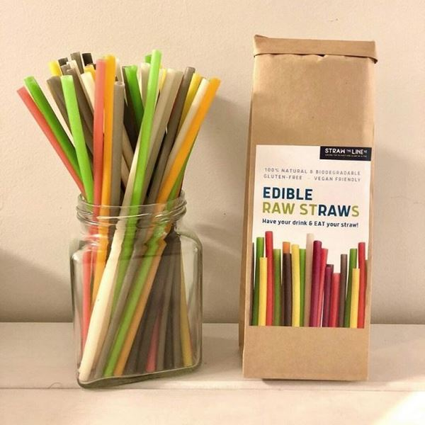 Picture of Edible raw straws