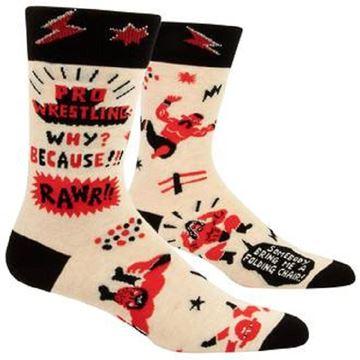 Picture of Mens pro wrestling socks