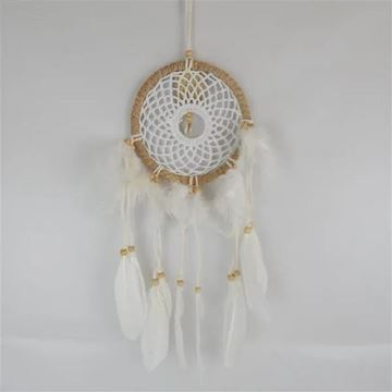 Picture of Macrame shell dreamcatcher