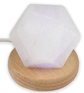 Picture of Salt lamp USB diamond white