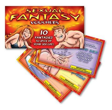 Picture of Sexual fantasy vouchers