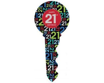 Picture of Keepsake keys 21st male
