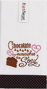 Picture of Tea towel chocolate soul