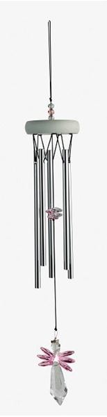 Picture of Gem tunes windchime pink angel