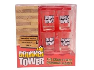Picture of Drunken tower drinking game