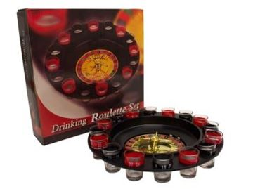 Picture of Drinking roulette set