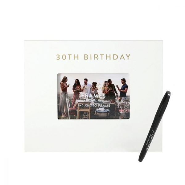 Picture of 30th signature frame