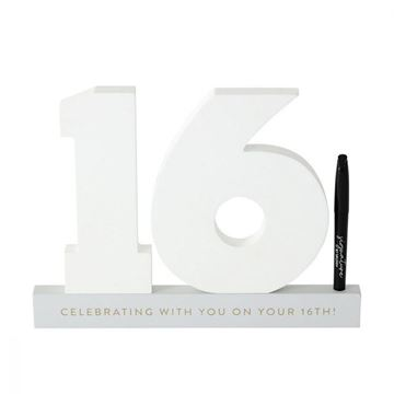 Picture of 16th signature number