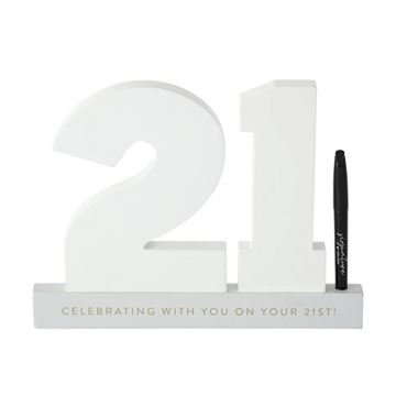 Picture of 21st signature number