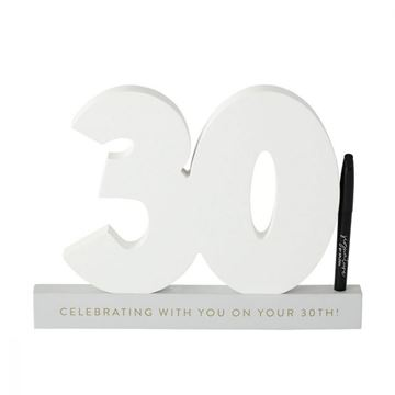 Picture of 30th signature number