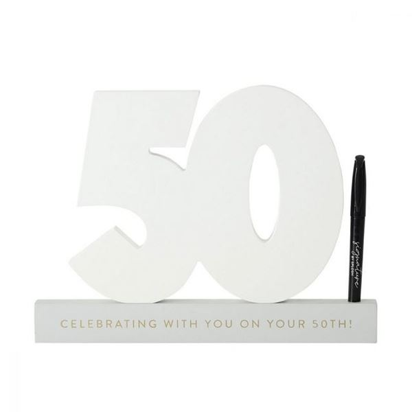 Picture of 50th signature number