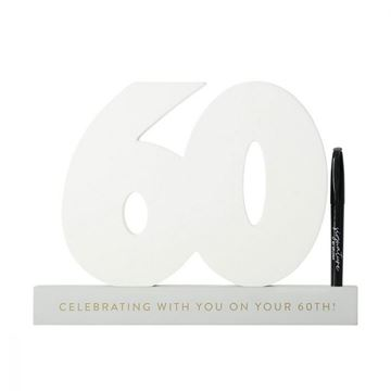 Picture of 60th signature number