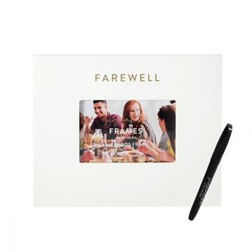 Picture of Farewell signature frame