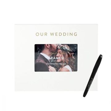 Picture of Wedding signature frame
