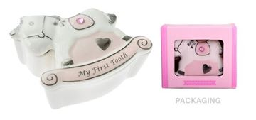 Picture of Rocking horse 1st tooth box
