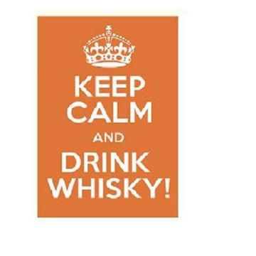 Picture of Keep calm whisky wall art