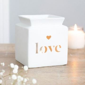 Picture of Love cut out oil burner