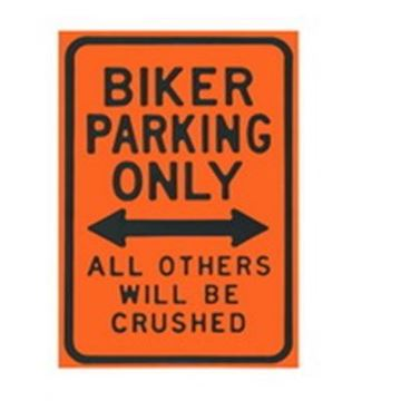 Picture of Biker parking wall art