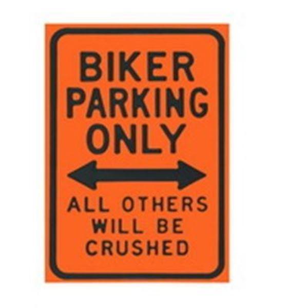 Picture of Biker parking wall art