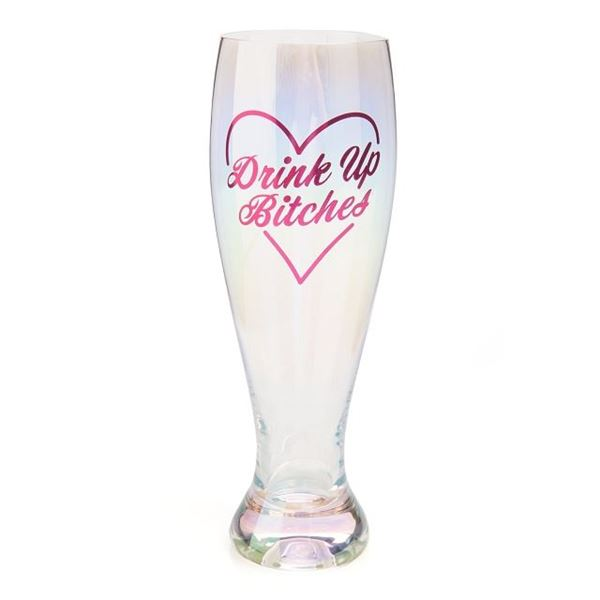 Picture of Drink up bitches glass