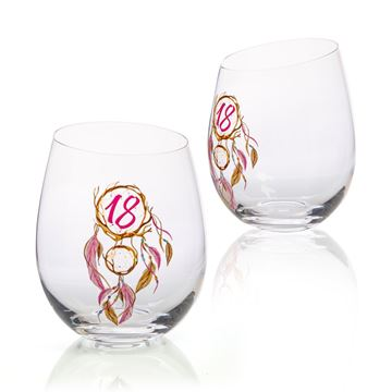 Picture of 18th dream stemless glass