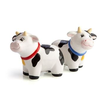 Picture of Cow salt & pepper set