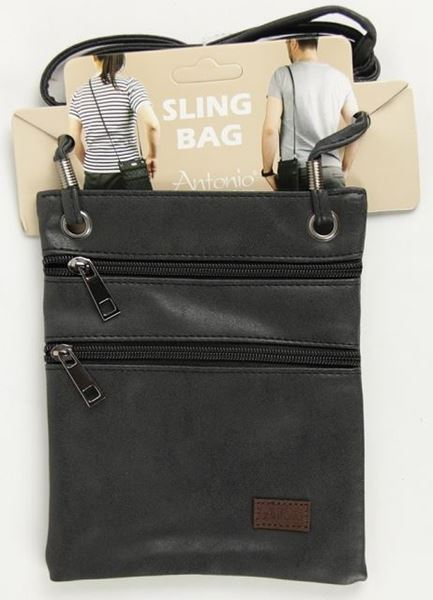 Picture of Black compartment bag