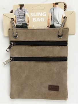 Picture of Caramel compartment bag