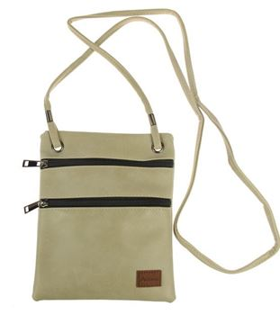 Picture of Taupe compartment bag