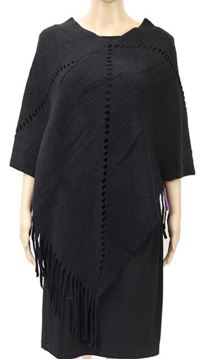 Picture of Black hole in lines poncho