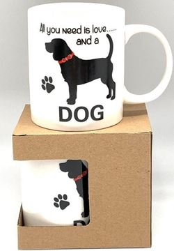 Picture of Mug dog all you need is love